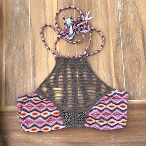 Acacia Swimwear crochet top